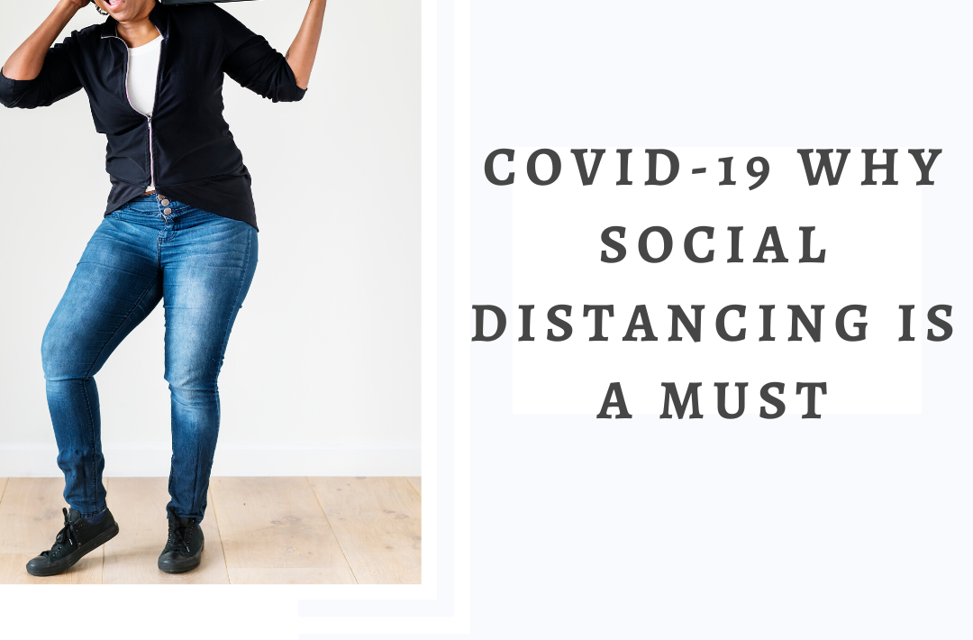 Covid-19 Why Social Distancing is a must